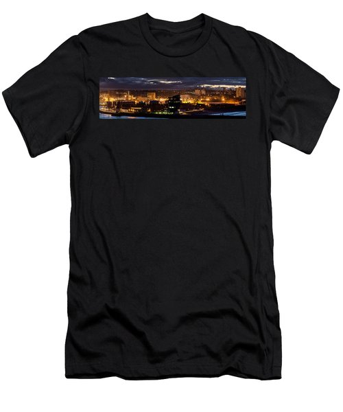 Aberdeen Skyline Men's T-Shirt (Athletic Fit)
