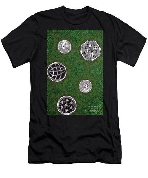 Men's T-Shirt (Slim Fit) featuring the painting Sold  by Mariusz Czajkowski