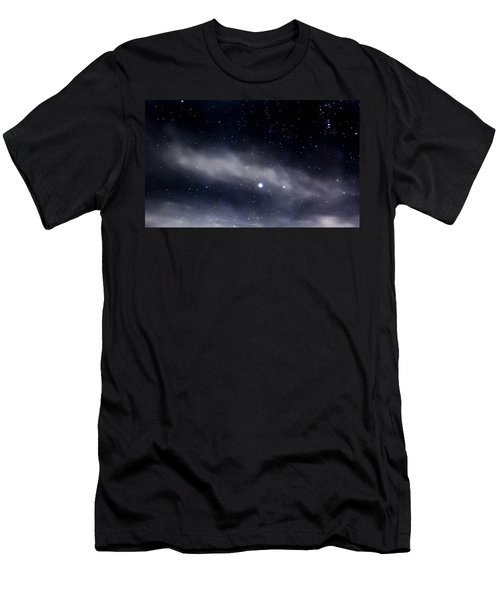 Men's T-Shirt (Slim Fit) featuring the photograph Above by Angela J Wright