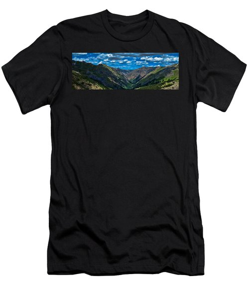 Men's T-Shirt (Slim Fit) featuring the photograph Above It All by Don Schwartz