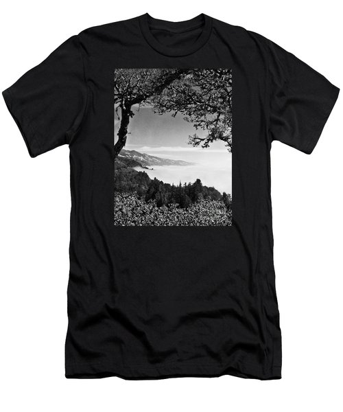 Above Nepenthe In Big Sur Men's T-Shirt (Athletic Fit)