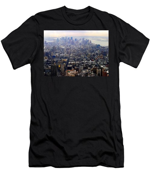 Above New York Men's T-Shirt (Athletic Fit)