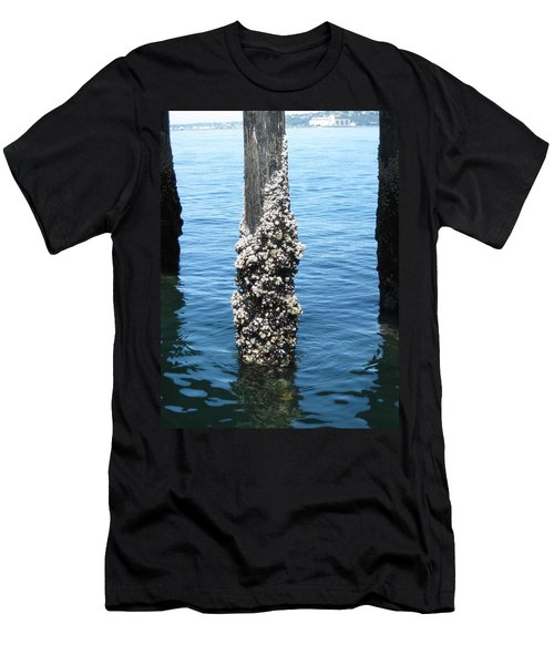 Above The Line Men's T-Shirt (Slim Fit) by David Trotter