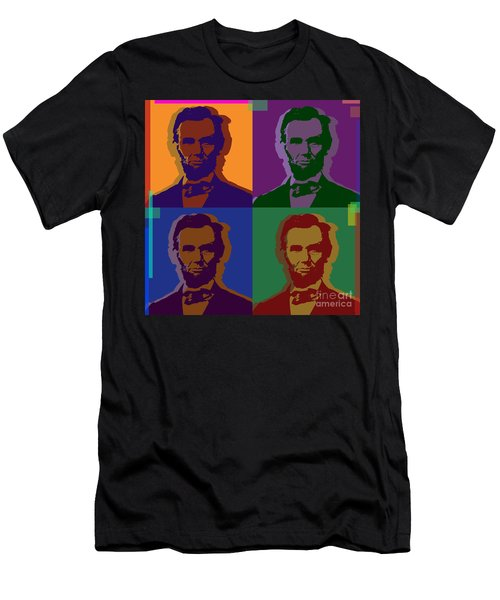 Abraham Lincoln Men's T-Shirt (Athletic Fit)