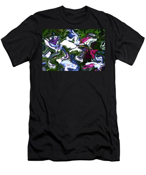 Men's T-Shirt (Slim Fit) featuring the digital art Absent by Richard Thomas