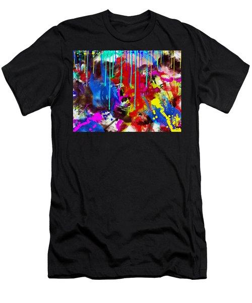 Abstract 6832 Men's T-Shirt (Slim Fit) by Sir Josef - Social Critic -  Maha Art