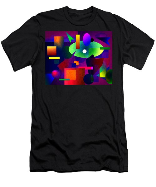 Abstract 74 Men's T-Shirt (Athletic Fit)