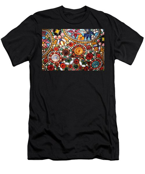 Abstract Beads Men's T-Shirt (Athletic Fit)