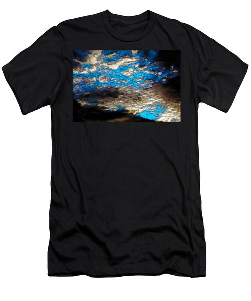 Abstract Clouds Men's T-Shirt (Athletic Fit)