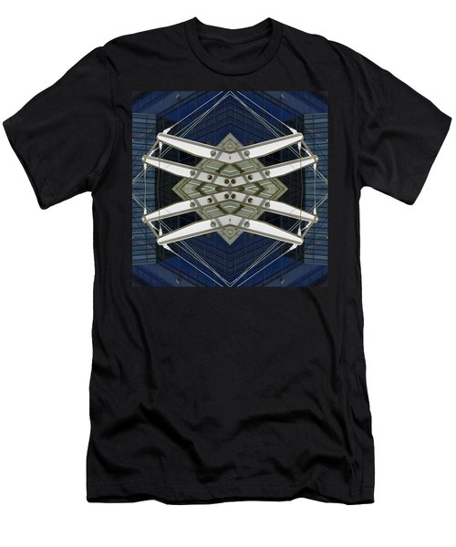 Abstract Construction Men's T-Shirt (Athletic Fit)