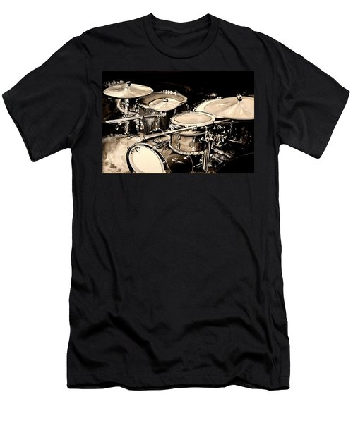 Abstract Drum Set Men's T-Shirt (Athletic Fit)