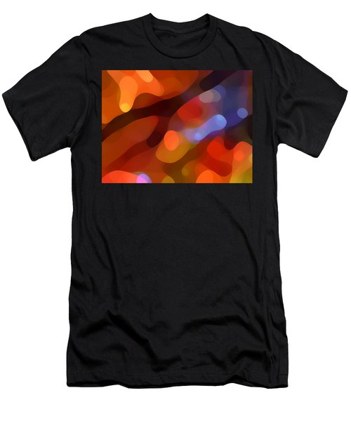 Abstract Fall Light Men's T-Shirt (Athletic Fit)