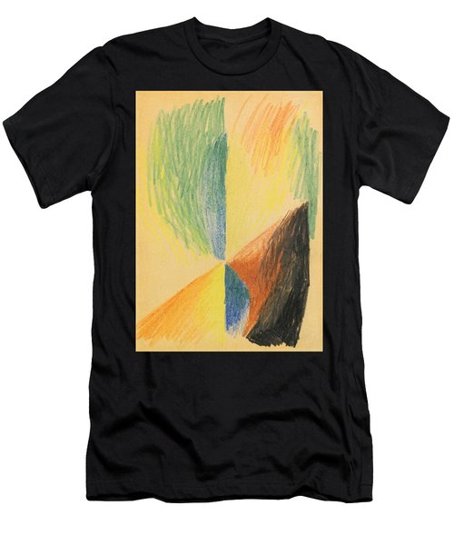 Abstract Forms Xiv Men's T-Shirt (Athletic Fit)