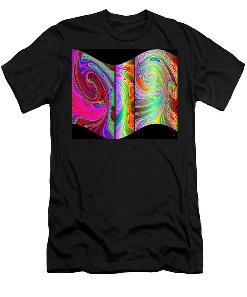 Abstract Fusion 184 Men's T-Shirt (Athletic Fit)