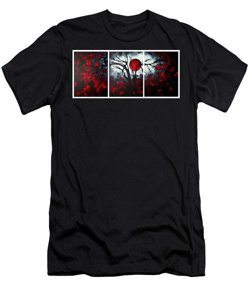 Abstract Gothic Art Original Landscape Painting Imagine By Madart Men's T-Shirt (Athletic Fit)