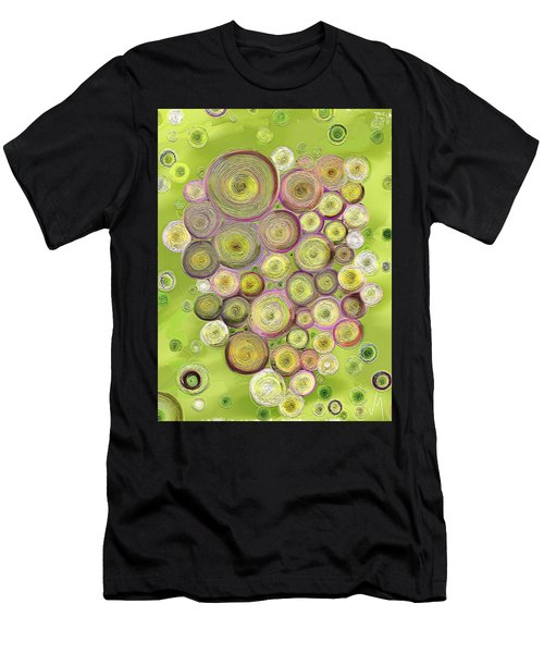 Abstract Grapes Men's T-Shirt (Athletic Fit)