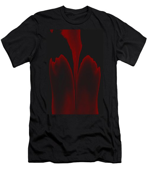 Abstract In Bloom 3 Men's T-Shirt (Slim Fit) by James Barnes