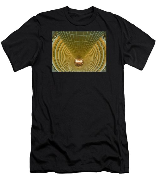 Abstract In Gold Men's T-Shirt (Athletic Fit)