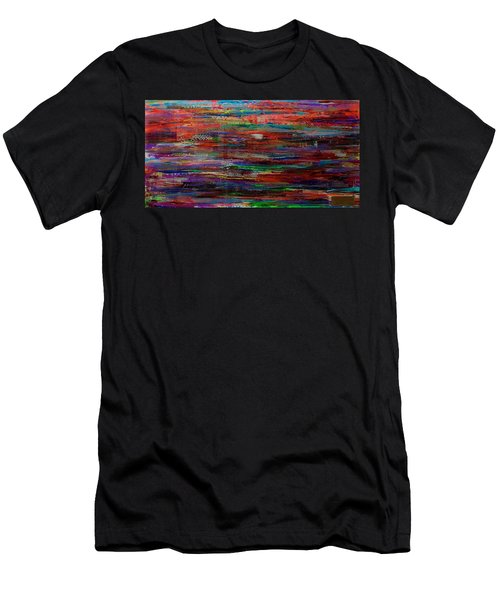 Abstract In Reflection Men's T-Shirt (Athletic Fit)