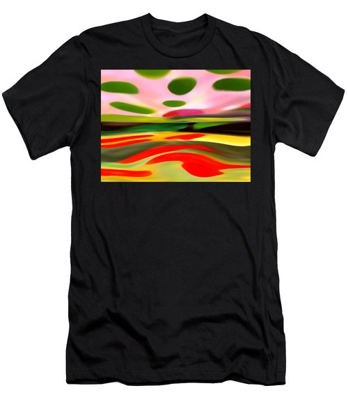 Abstract Landscape Of Happiness Men's T-Shirt (Athletic Fit)
