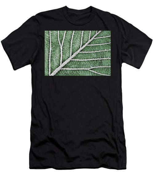Abstract Leaf Art Men's T-Shirt (Athletic Fit)