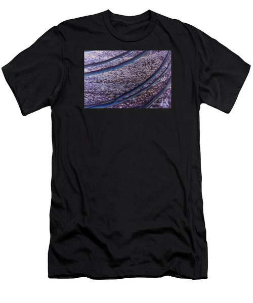 Abstract Lines. Men's T-Shirt (Athletic Fit)