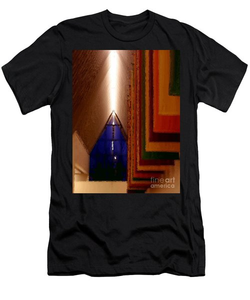 Abstract - Center For The Arts Interior Allentown Pa Men's T-Shirt (Athletic Fit)