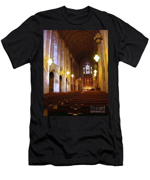 Abstract - Egner Memorial Chapel Interior Men's T-Shirt (Athletic Fit)