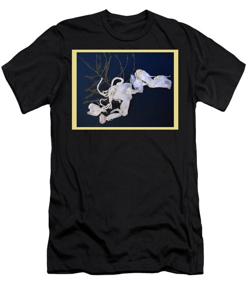 Abstract On-distress Men's T-Shirt (Athletic Fit)