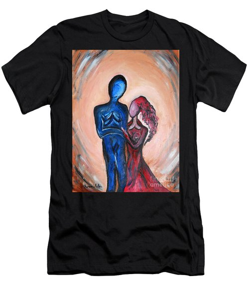 Abstract Romance Men's T-Shirt (Athletic Fit)