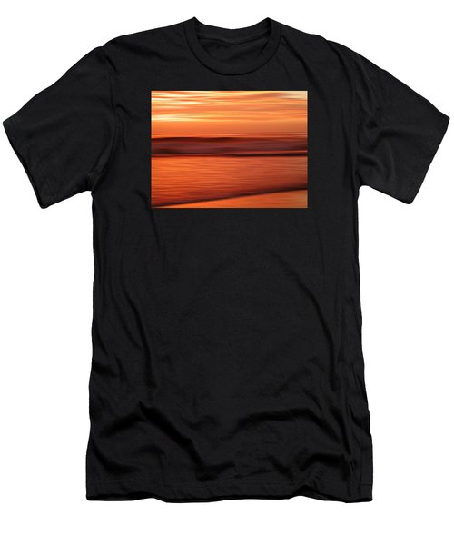 Abstract Seascape At Sunset Men's T-Shirt (Athletic Fit)