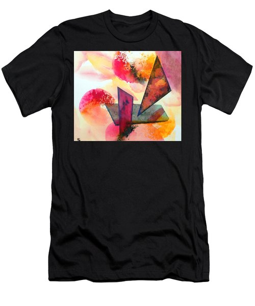 Abstract Shapes Men's T-Shirt (Athletic Fit)