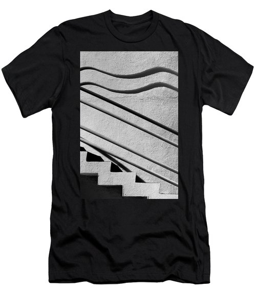 Abstract Stairs Men's T-Shirt (Athletic Fit)