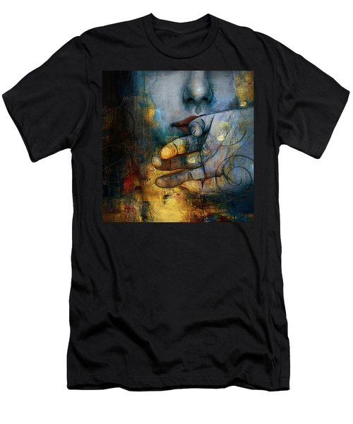 Abstract Woman 011 Men's T-Shirt (Athletic Fit)