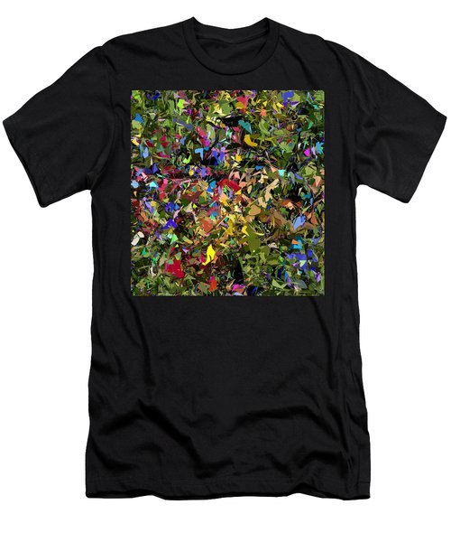 Abstraction 2 0211315 Men's T-Shirt (Slim Fit) by David Lane