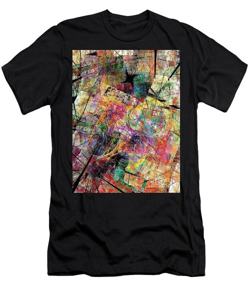 Abstraction 442-09-13 Marucii Men's T-Shirt (Athletic Fit)