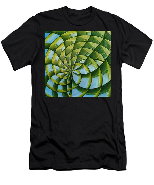 Abstraction A La M. C. Escher Men's T-Shirt (Athletic Fit)