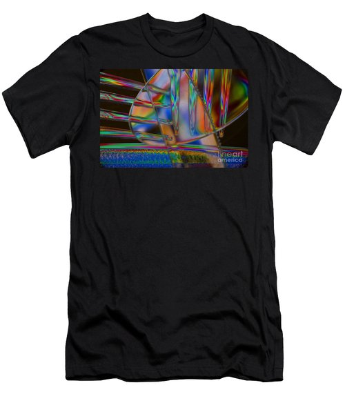 Abstraction In Color 1 Men's T-Shirt (Athletic Fit)