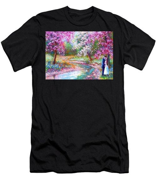 Abundant Love Men's T-Shirt (Athletic Fit)