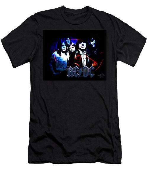 Ac/dc - Rock Men's T-Shirt (Athletic Fit)