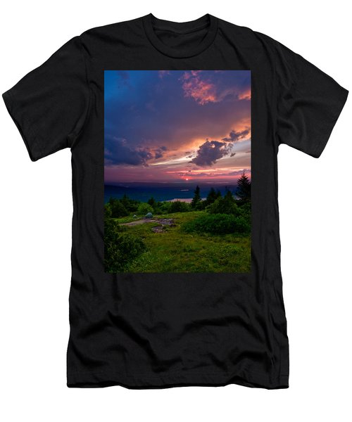 Acadia Sunset 47150 Men's T-Shirt (Athletic Fit)