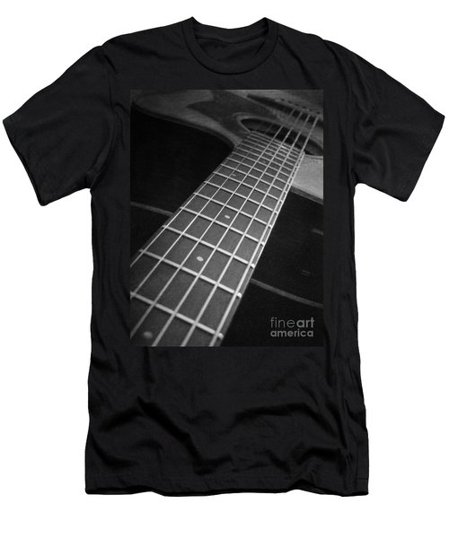 Acoustic Guitar Men's T-Shirt (Athletic Fit)