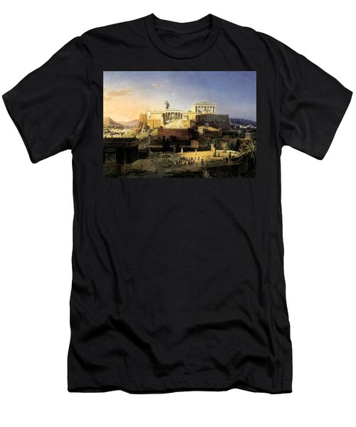 Acropolis Of Athens Men's T-Shirt (Athletic Fit)