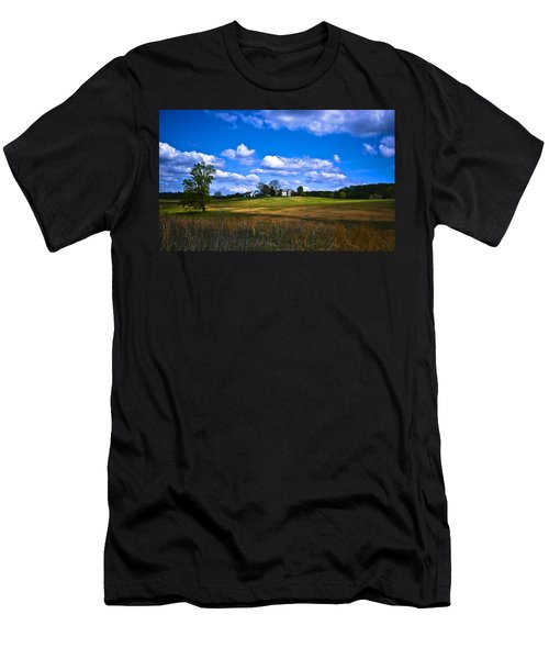 Across The Field Men's T-Shirt (Athletic Fit)