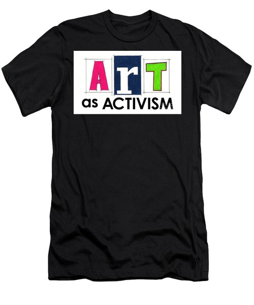 Art As Activism. Men's T-Shirt (Athletic Fit)