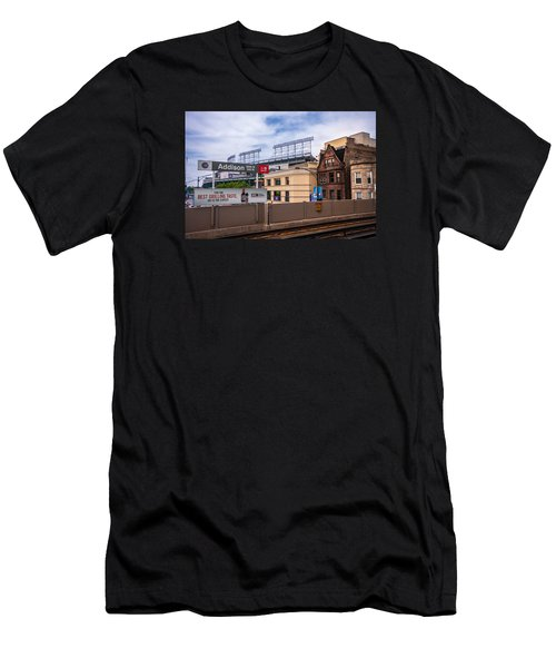 Addison Street Station Men's T-Shirt (Athletic Fit)