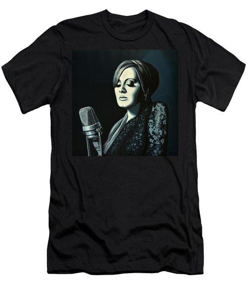 Adele 2 Men's T-Shirt (Athletic Fit)