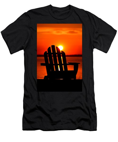Adirondack Days End Men's T-Shirt (Athletic Fit)