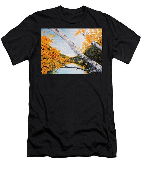 Adirondacks New York Men's T-Shirt (Athletic Fit)