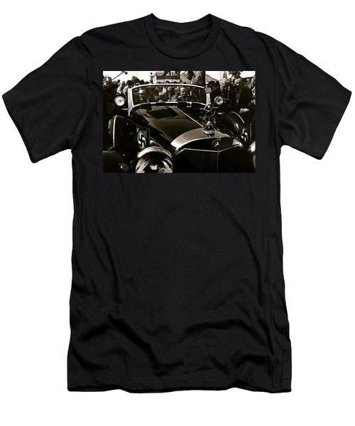 Adolf Hitler's 1941 Mercedes-benz 770-k Touring Car Sold At Auction Scottsdale Arizona 1973 Men's T-Shirt (Athletic Fit)
